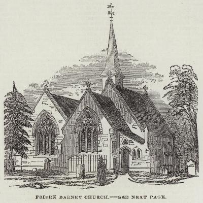 Friern Barnet Church--Giclee Print