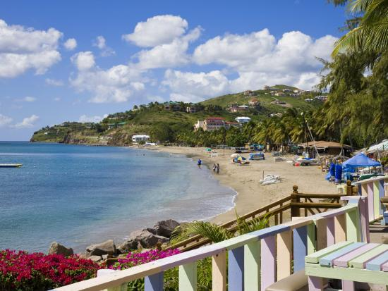 Frigate Bay Beach St Kitts Leeward Islands West Ins Caribbean Central America Photographic Print By Gavin Hellier Art