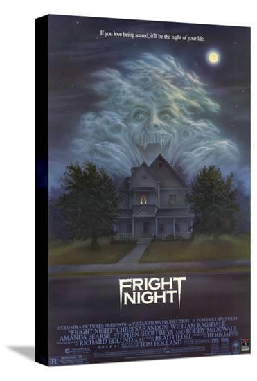 Fright Night--Stretched Canvas Print