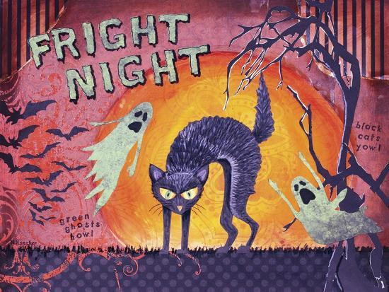 Fright Night-Let Your Art Soar-Giclee Print