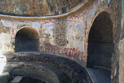 Frigidarium Based on Circular Plan, Forum Baths, Pompeii--Photographic Print