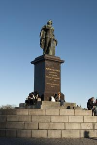 King Gustav Iii Statue, Stockholm by Frina