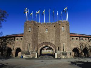Olympic Stadium, Stockholm by Frina