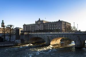 Riksdag, Norrbro Bridge, Stockholm by Frina