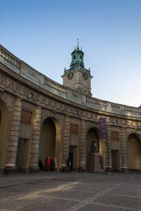 Stockholm Palace, Castle Square, Tower by Frina