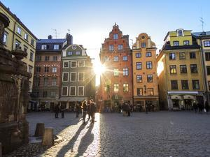 Terrace, Market Square, Stortorget, Stockholm by Frina