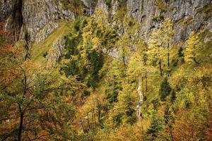 Valley Bottom, Entry Hut 'Hšllentalklamm' (Gorge), Grainau, Upper Bavaria by Frina