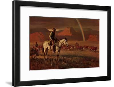 Fringe Benefit-Duane Bryers-Framed Art Print
