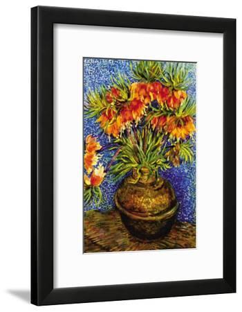 Fritillaries-Vincent van Gogh-Framed Art Print