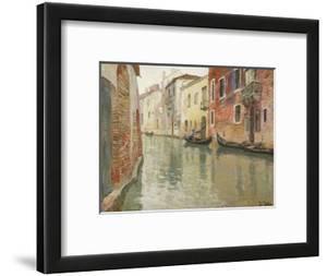 A Venetian Backwater by Frits Thaulow