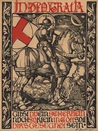In Deo Gratia World War I Poster