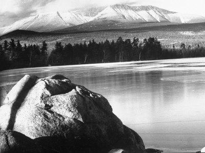 Baxter State Park with Mt. Katahdin in Distance