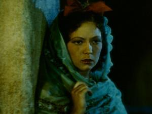 Frame of Hand-Tinted Silent Film by Fritz Goro