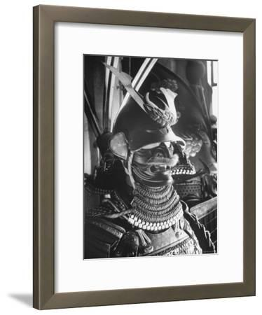 Helmet from Japanese Samurai Suit