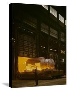 Iron Forge, Bethlehem, Pennsylvania by Fritz Goro