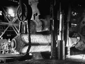 Manufacture of Large Steel Ingot by Fritz Goro
