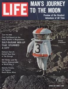 Moonsuit Being Tested, April 27, 1962 by Fritz Goro