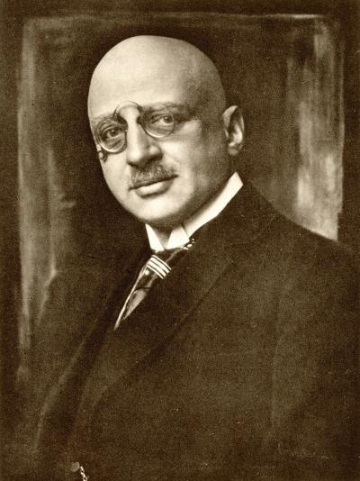Fritz Haber German Chemist--Photographic Print