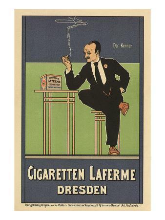 Cigaretten Laferme, Dresden, c.1897