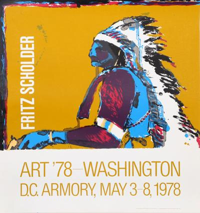 Art '78 - Washington D.C. Armory Show by Fritz Scholder