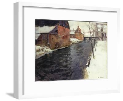 A Winter River Landscape, 1895