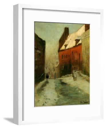 A Winter Street Scene, Montreuil, 1894