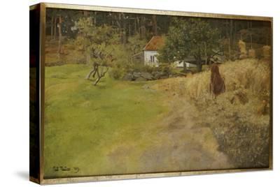 Haymaking, Stord, 1889