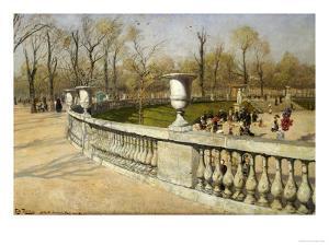 Jardin Du Luxembourg, 1883 by Fritz Thaulow