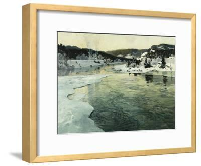 Winter on the Mesna River Near Lillehammer, C. 1905-06