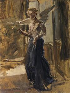 Angel by Fritz von Uhde