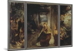 Holy Night (Triptych), 1888-89 by Fritz von Uhde