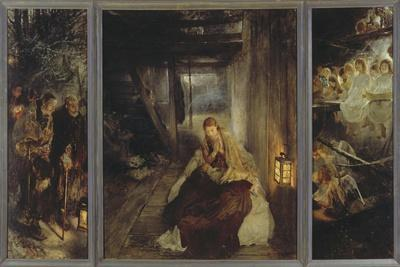 Holy Night (Triptych), 1888-89