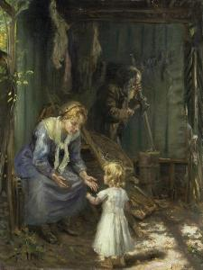 The Holy Family by Fritz von Uhde