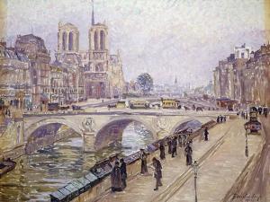 View of Notre Dame, Paris by Fritz Westendorp