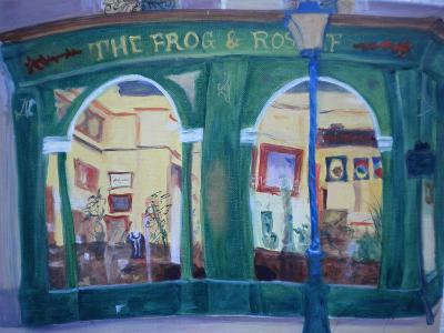 Frog and Roast Beef, 2010-Antonia Myatt-Giclee Print