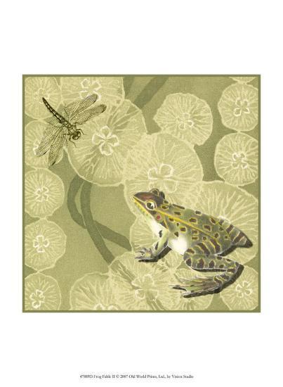 Frog Fable II--Art Print