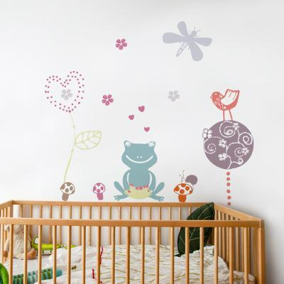 Frog Love Wall Decal--Wall Decal