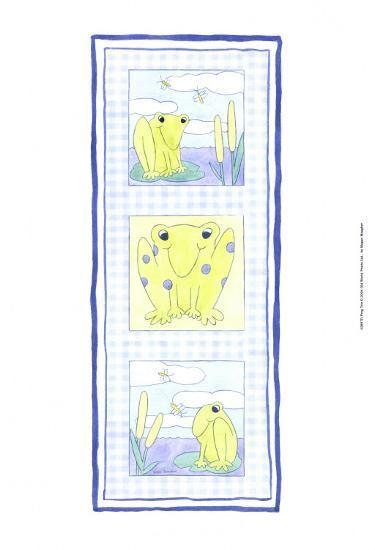 Frog Trio-Megan Meagher-Art Print