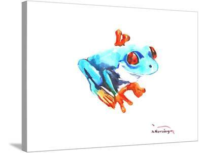 Frog-Suren Nersisyan-Stretched Canvas Print