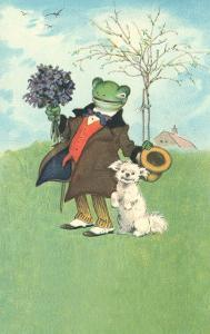 Froggy Went A'Courtin'