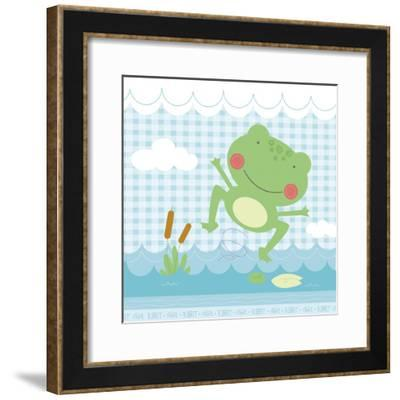 Froggy-Holli Conger-Framed Giclee Print