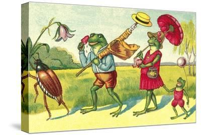 Frogs on Summer Outing