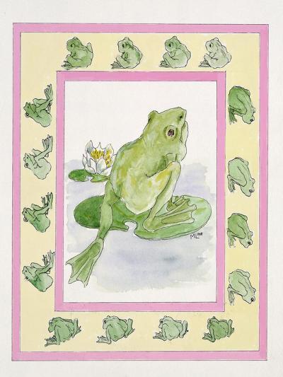 Frogs-Miranda Legard-Giclee Print