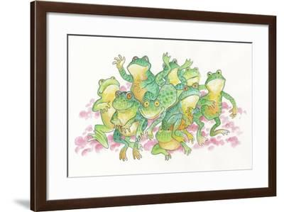 Frogs-Bill Bell-Framed Giclee Print