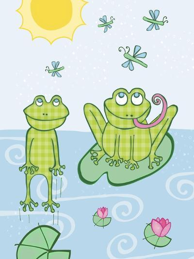 Frogs-Esther Loopstra-Giclee Print