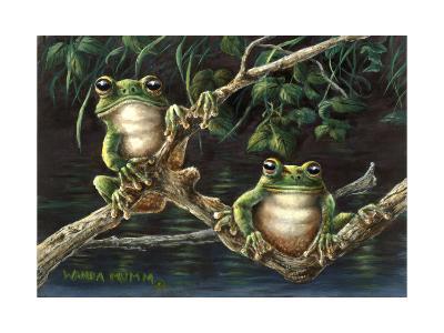 Frogs-Wanda Mumm-Giclee Print