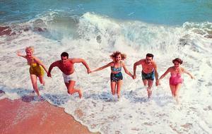 Frolicking in Surf