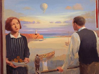 From a Balcony, 2004-05-Alan Kingsbury-Giclee Print
