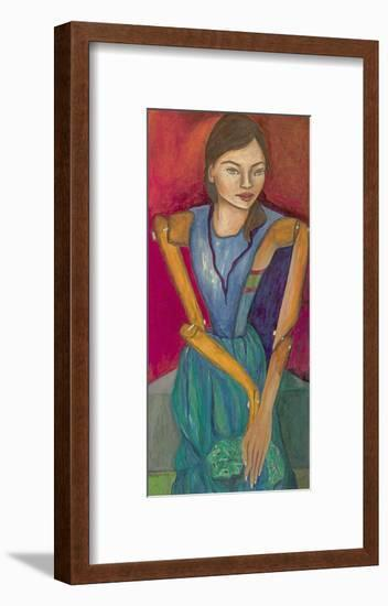 From a Puppet to a Girl, 2015-Stevie Taylor-Framed Giclee Print