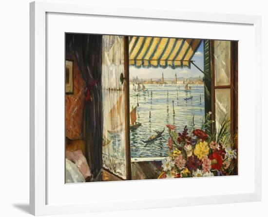 From a Venetian Window, 1934-Christopher Richard Wynne Nevinson-Framed Giclee Print